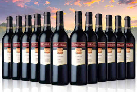 San Jamon - 12 bottle case of Montelago Monastrell Jumilla red wine - Save 44%