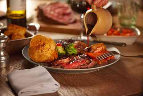 Ladbrooke Hote - Sunday lunch for two people with dessert each - Save 50%