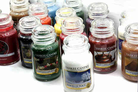 Yankee Bundles - Six assorted Yankee candle large jars - Save 0%