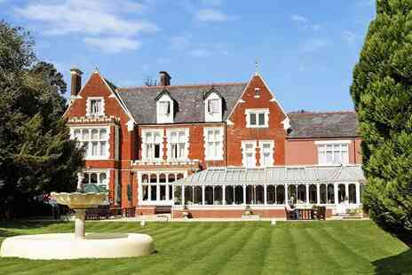 Hilton St Annes Manor - Elegant Country House in 25 Acres of Lush Grounds for two - Save 41%