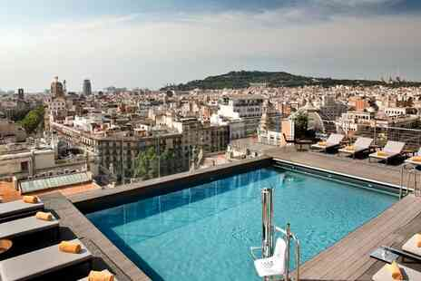 NH Collection Gran Hotel Calderon - Year Round Rooftop Pool with Views Over the Heart of the City for two - Save 51%