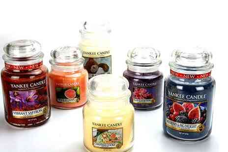 Yankee Bundles - 3 assorted Yankee Candle large jars and three assorted medium jars - Save 63%