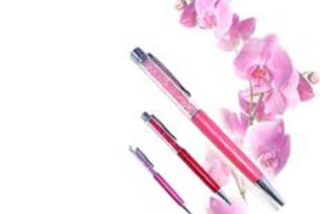Bella Style - Crystal Filled Pen - Save 67%
