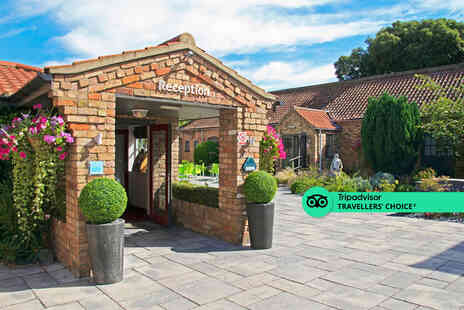 The Brackenborough Hotel - A North Killingholme, Lincolnshire stay for two people - Save 52%