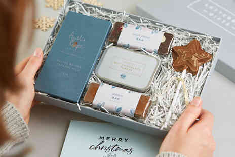 Letterbox Gifts - Luxury chocolate gift hamper including Salted Caramel Milk Chocolate, Black Forest Bar - Save 0%