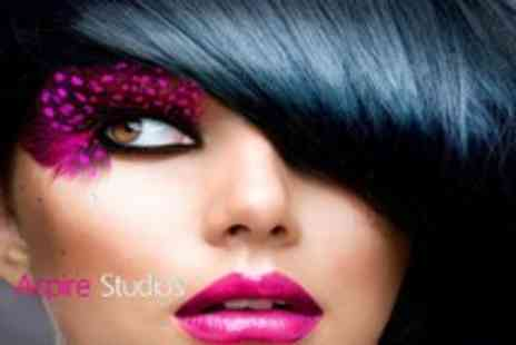 Aspire Studios - MAC makeover, photoshoot, prints & drinks - Save 97%