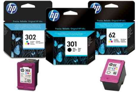 Raion Limited - Hewlett Packard Black or Colour Ink Cartridge With Free Delivery - Save 42%