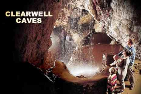 Clearwell Caves - Tickets For Two Adults - Save 50%