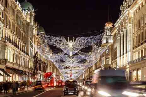 Golden Tours - Christmas lights London by Night tour - Save 38%