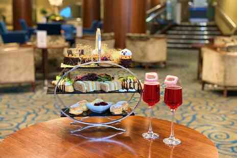 Holiday Inn London - Halloween themed afternoon tea for two people with a glass of Prosecco each - Save 45%