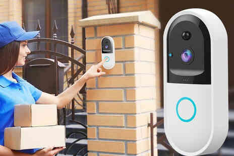 Top Good Chain - Smart video doorbell with a 32GB memory card - Save 61%