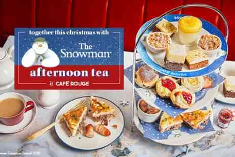 Cafe Rouge - The Snowman Afternoon Tea for Two - Save 0%