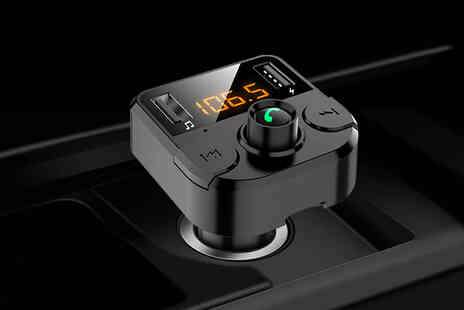 Vendinplus - Bluetooth transmitter for cars - Save 78%