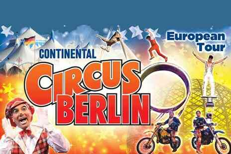 The European Entertainment Corporation - Snap up a ticket choose from 10 dates - Save 50%