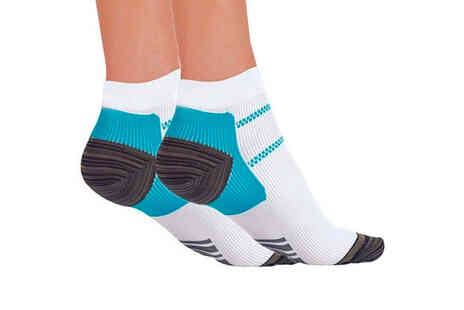 Forever cosmetics - Pair of planter fasciitis socks - Save 67%