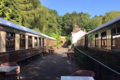 The Old Railway Station - Standard Pullman Carriage Ensuite Double Room for Two with Breakfast - Save 23%