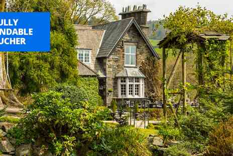 Broadoaks Country House Hotel - Sparkling afternoon tea for 2 in Windermere - Save 47%