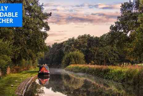 Lancashire Canal Cruises - Lancs barge cruise for 2 including afternoon tea - Save 28%