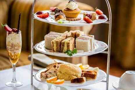Mercure Haydock Hotel - Afternoon tea for two people including a glass of Prosecco each - Save 52%