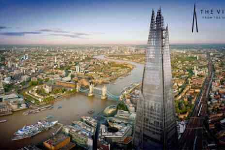 The View from the Shard - Entry to The View - Save 46%