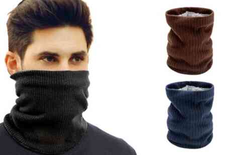 Groupon Goods Global GmbH - Fleece Lined Winter Neck Warmer - Save 69%