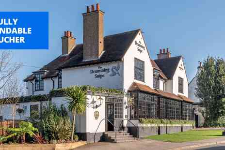 The Drumming Snipe - Three courses & bubbly for 2 at Woking gastropub - Save 49%