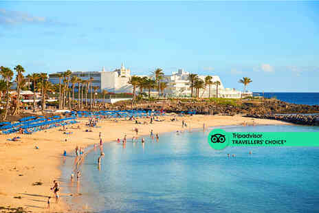Super Escapes Travel - An all inclusive Lanzarote, Spain hotel stay and return flights - Save 52%
