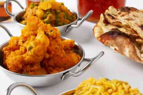 Ambala Deli Bar Glasgow - Three Course Indian Meal with Side for Two or Four - Save 48%