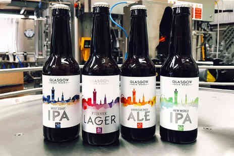 Glasgow Beer Works - 12 mixed case of tasting range beer - Save 37%