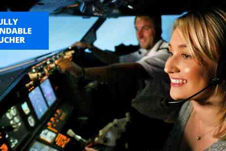 Virtual Flight Experience - 30 minute flight simulator experience in Warwickshire - Save 20%