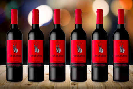 J&Y Distribution - Six bottles of Adega Mor vale da burra Portuguese red wine - Save 61%
