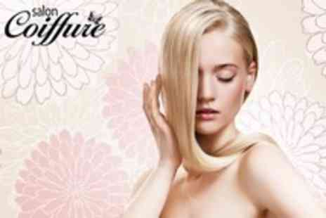 Salon Coiffure - Steampod Hair Styling - Save 55%