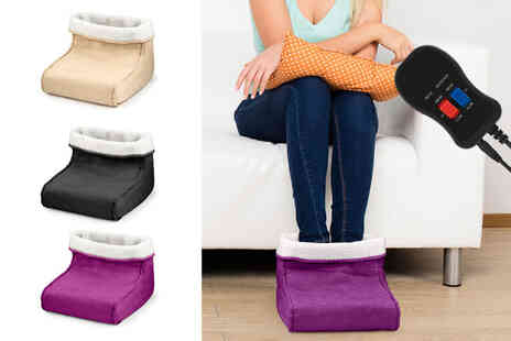 Vivo Mounts - Electric foot warmer and massager - Save 67%