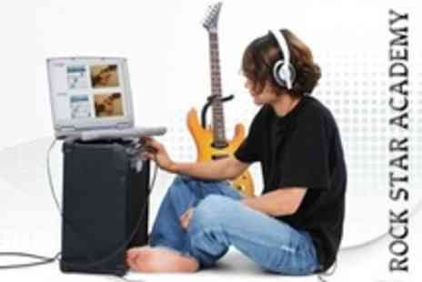 Rock Star Academy - One Years Online Music Tuition Subscription For One - Save 83%