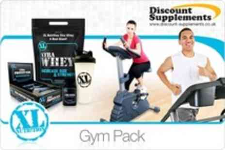 Discount Supplements - One Work Out Supplements XL Nutrition Gym Packs With Shaker - Save 33%