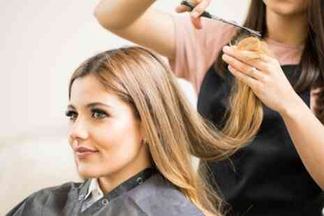 Match Hairdressing - Ladies Cut and Blow Dry with Optional Half or Full Head of Highlights - Save 64%