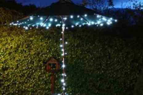 You just bought a brand - 100 white outdoor LED solar powered fairy lights - Save 88%