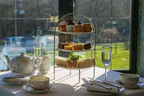 Lythe Hill Hotel - Festive Afternoon Tea with Mulled Wine or Festive Cocktail for Two or Four - Save 0%