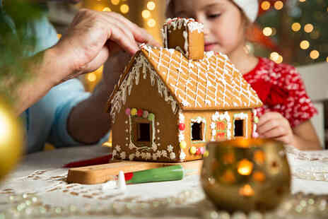 The Cauldron Edinburgh - Christmas gingerbread house decorating experience for two people - Save 37%