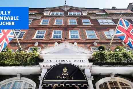 The Goring - Michelin starred The Goring Three courses & champagne - Save 0%