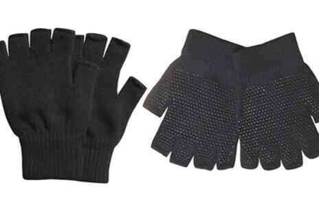 Groupon Goods Global GmbH - Pairs of Fingerless Gloves with Grip - Save 0%
