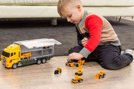 MBLogic - Alloy toy carrier truck - Save 64%