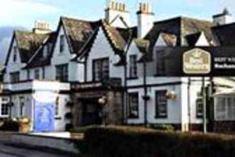 Buchanan Arms Hotel - Loch Lomond Luxury stay for TWO Includes Full Scottish Breakfast a Full Bottle of Prosecco & Chocolates - Save 55%