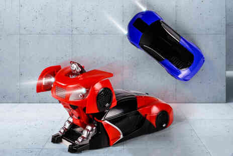 MBLogic - 2 in 1 deforming remote control car toy - Save 70%