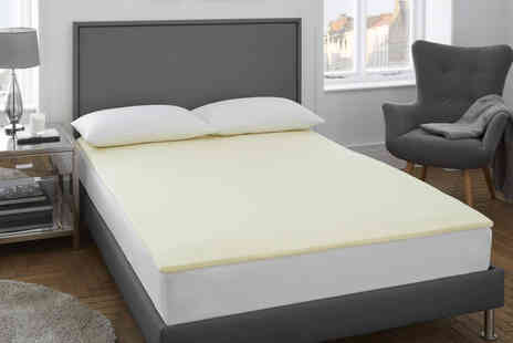 Victoria Home Living - 2cm thick memory foam mattress topper - Save 70%