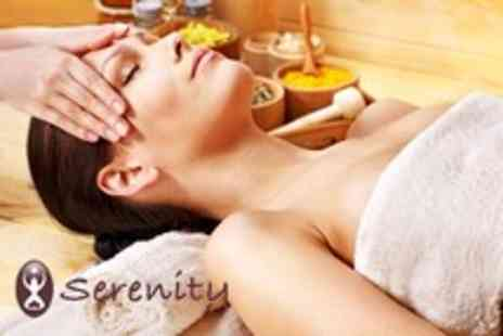 Serenity - Spa day for 2 people including 2 treatments each, full use of the spa & gym plus lunch - Save 81%