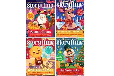 Storytime Magazine - Story bundle including a 12 month subscription, letter - Save 52%