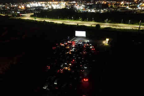 The Drive In Cinema - One car admission to a choice of drive in cinema Christmas movie - Save 31%