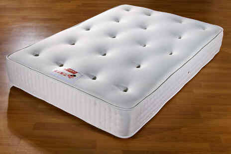 Beds24hr - Single luxury extra-thick memory foam mattress - Save 77%