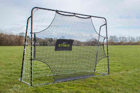Gardening & Camping - 7x5 football goal and rebounder - Save 60%